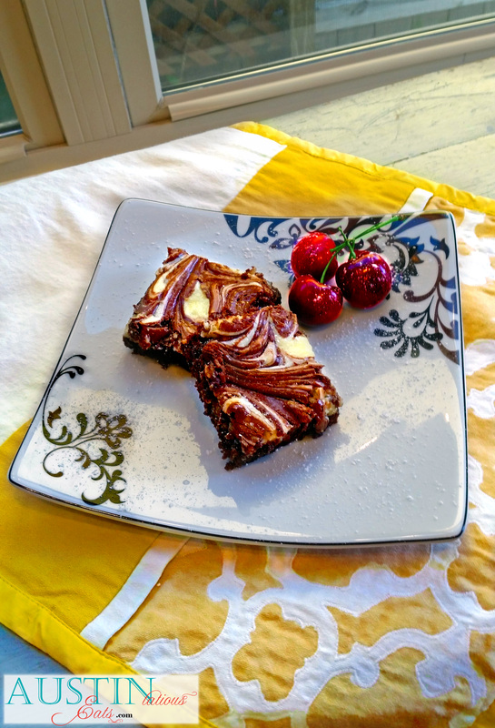Nutella Cheesecake Brownie